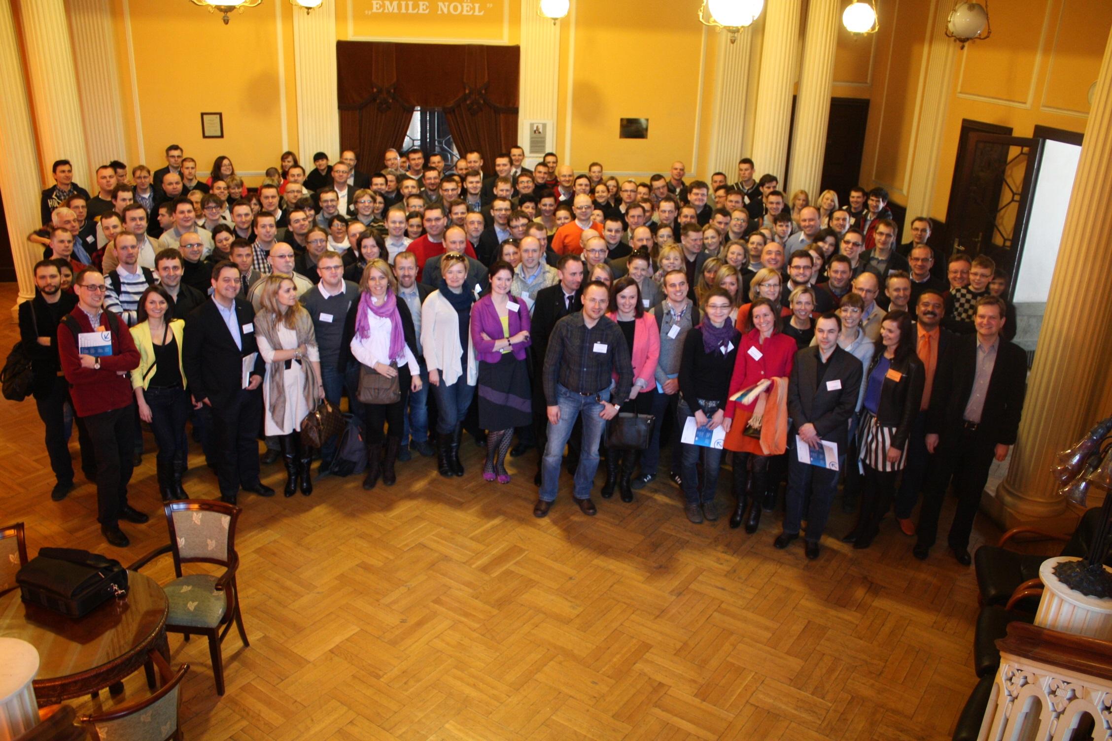 Zdjęcie grupowe jest stałym punktem każdego Kongresu